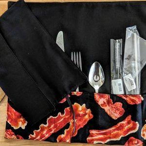 Milk Drunk Clothing Party Supplies - Reusable Utensil & Metal Straw Set Zero Waste NWT